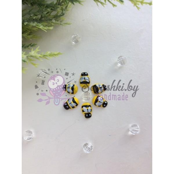 """Стикер для декора """"Желтая пчелка"""", 1,3 см"""