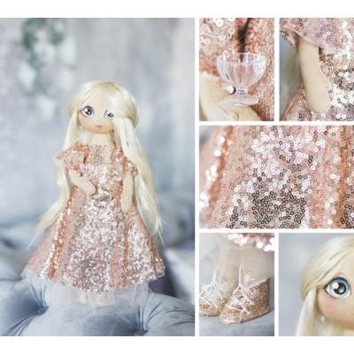"""Интерьерная кукла """"Николь"""""""