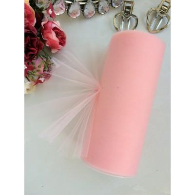 Фатин нежно-розовый