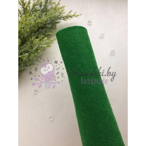 Фетр мягкий 1 мм, зеленый