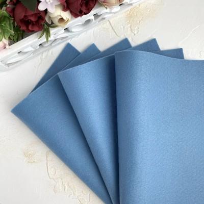 Корейский фетр мягкий 1 мм Royal (RN38), серо-голубой