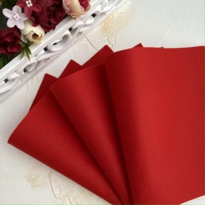 Корейский фетр мягкий 1 мм Royal (RN18), рождественско-красный