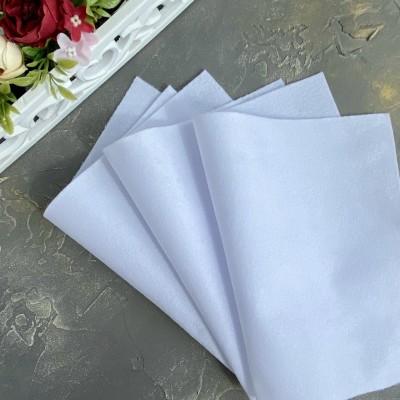 Корейский фетр мягкий 1 мм Royal (RN01), белый