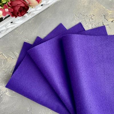 Корейский фетр мягкий 1 мм Royal (RN39), фиолетовый