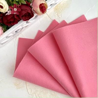 Корейский фетр мягкий 1 мм Royal (RN04), розовый