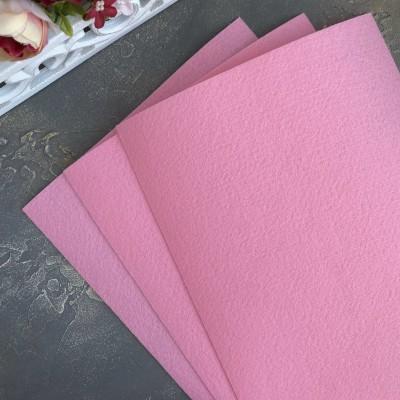 Корейский фетр жесткий 1,2 мм Solitone (828), светло-розовый
