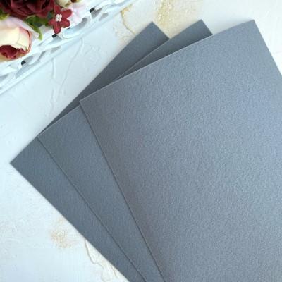 Корейский фетр жесткий 1,2 мм Solitone (939), серый