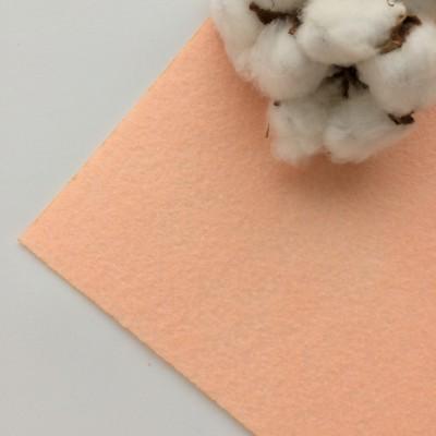Фетр жесткий 1 мм, розовый персик