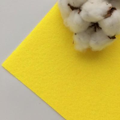 Фетр жесткий 1 мм, желтый