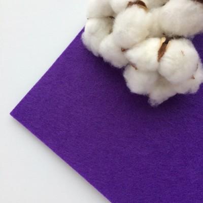 Фетр жесткий 2 мм, фиолетовый