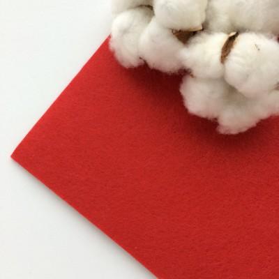Фетр жесткий 2 мм, красный