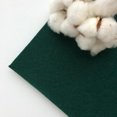 Фетр жесткий 2 мм, темно-зеленый (№081)