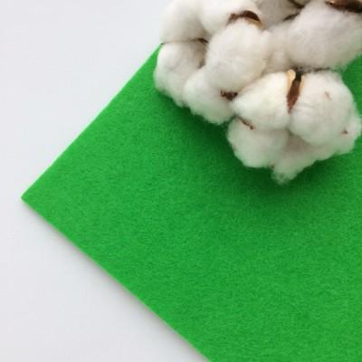 Фетр жесткий 2 мм, зеленый (№017)