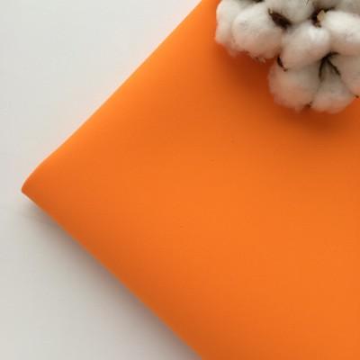 Иранский фоамиран 1 мм оранжевый (№ 125)