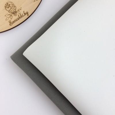 Китайский фоамиран 1 мм белый
