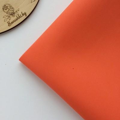 Китайский фоамиран 1 мм коралловый