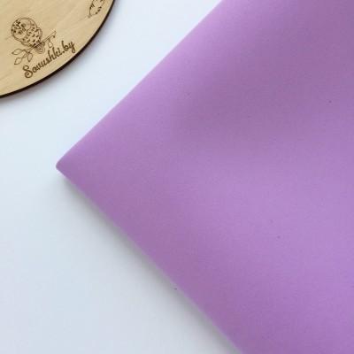 Китайский фоамиран 1 мм светло-фиолетовый