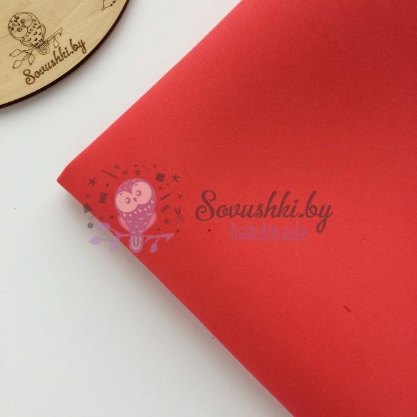Китайский фоамиран 1 мм красный