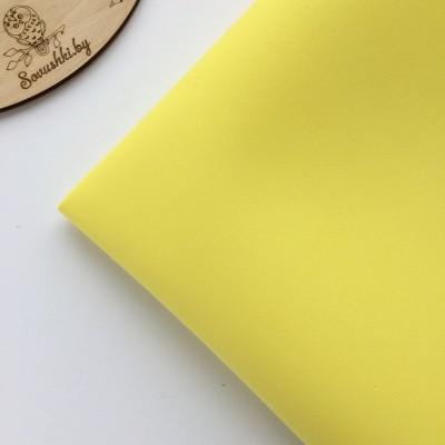 Китайский фоамиран 1 мм лимонный