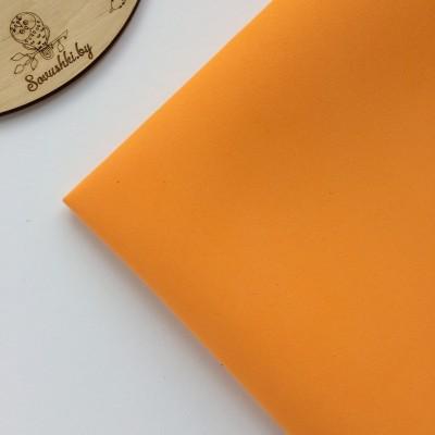 Китайский фоамиран 1 мм оранжевый