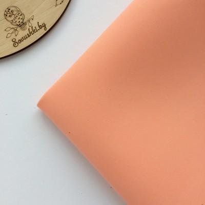 Китайский фоамиран 1 мм розовый персик