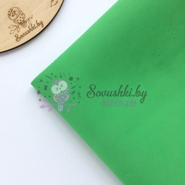Китайский фоамиран 1 мм зеленый