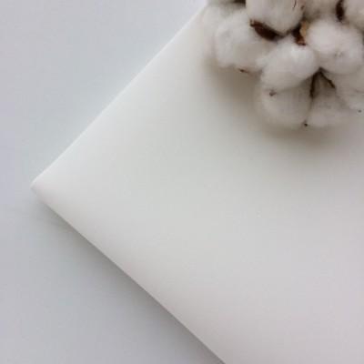 "Фоамиран зефирный 1 мм, ""Белый"" (№001)"