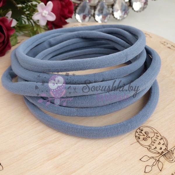 Повязка One size, серо-голубой