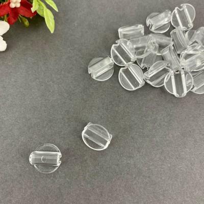 Основа пластиковая под резинку 14*14 мм, прозрачный