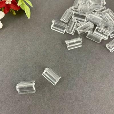 Основа пластиковая под резинку 14*10 мм, прозрачный