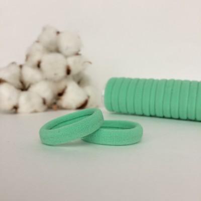 Резинка для волос 3 см, аквамарин