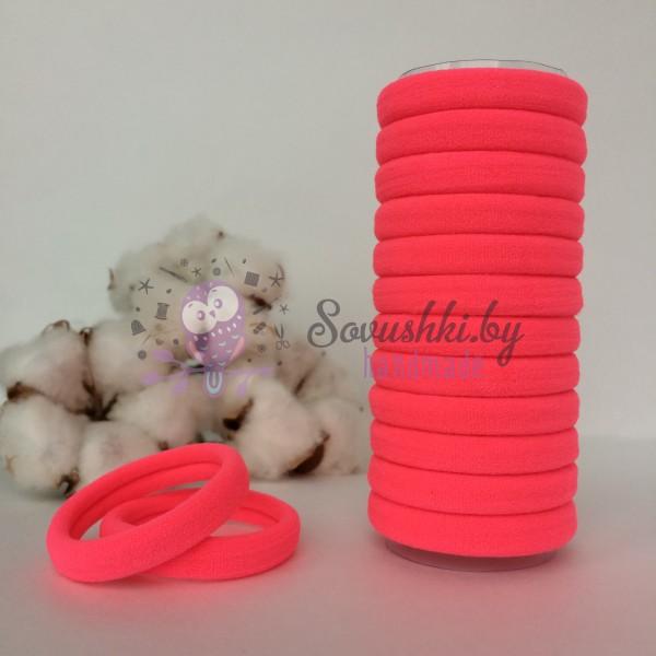 Резинка для волос 4 см, светло-розовый
