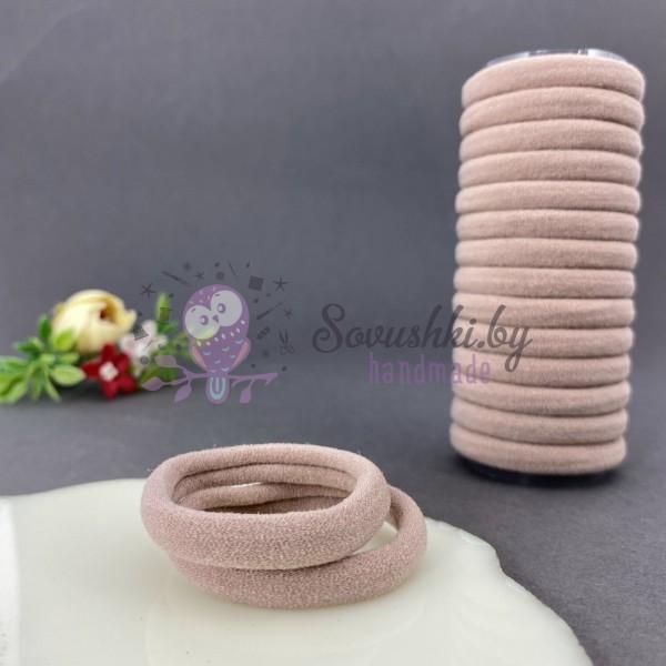 Резинка для волос 4 см, пенка