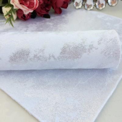 Кожзам-ткань, серебро