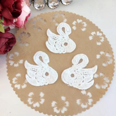 "Кружевной декор ""Лебеди"""