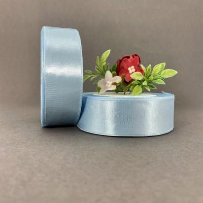 Лента атласная 25 мм, голубой (104)