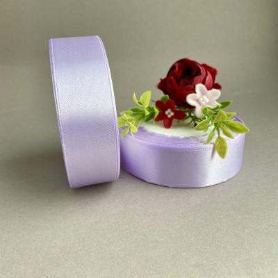 Лента атласная 25 мм, светло-фиолетовый