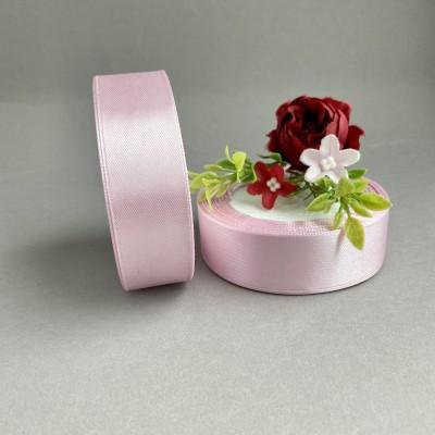 Лента атласная 25 мм, розовый (175)
