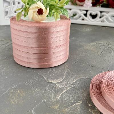 Лента атласная 6 мм, дымчато-розовый (146)