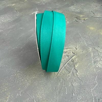 Лента репсовая 15 мм,бирюзовый
