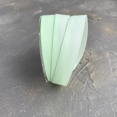 Лента репсовая 15 мм,мятный