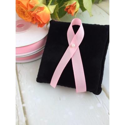 Лента репсовая 10 мм, нежно-розовый