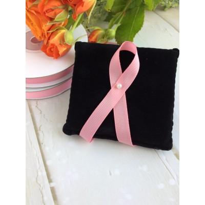 Лента репсовая 10 мм, розовый