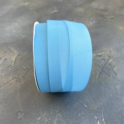 Лента репсовая 25 мм, голубой (97)