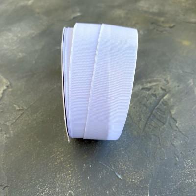 Лента репсовая 25 мм, белый