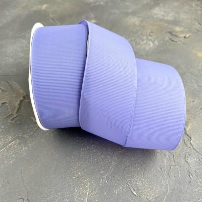 Лента репсовая 4 см, фиолетовый (21)