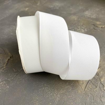 Лента репсовая 4 см, молочный (42)