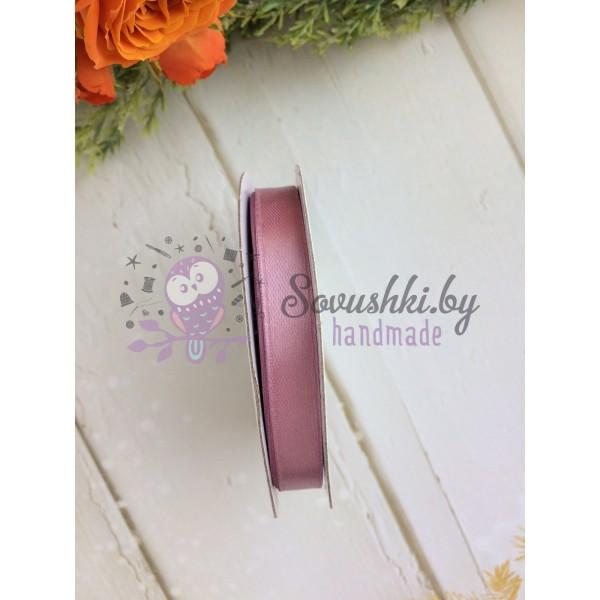 Лента атласная 10 мм, розовый