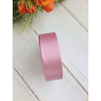Лента атласная 25 мм, розовый