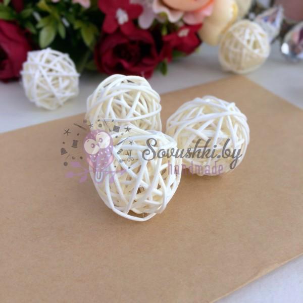 Шарики плетеные для декора